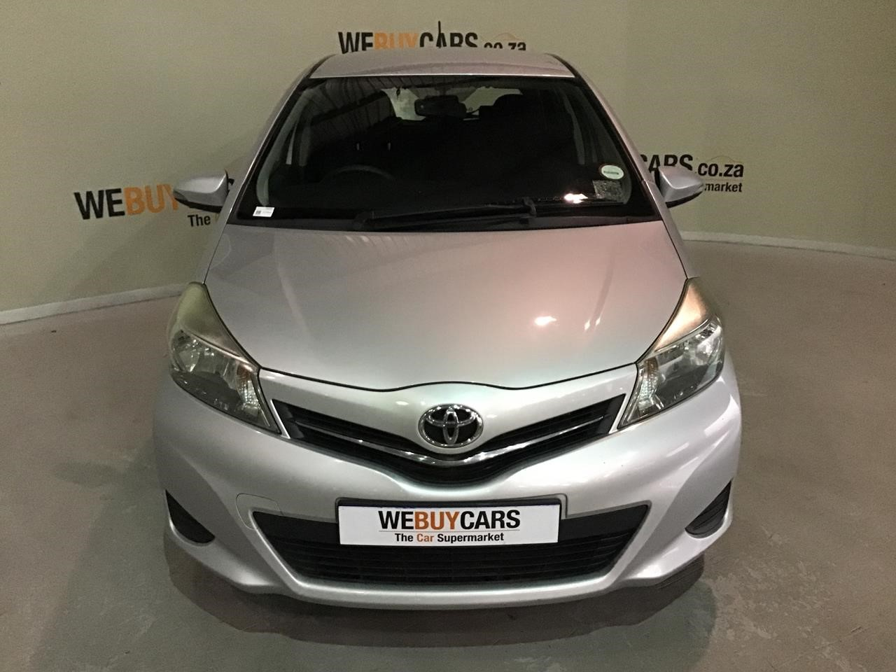 Used 2012 Toyota Yaris 1 3 Xs 5 Door For Sale Webuycars