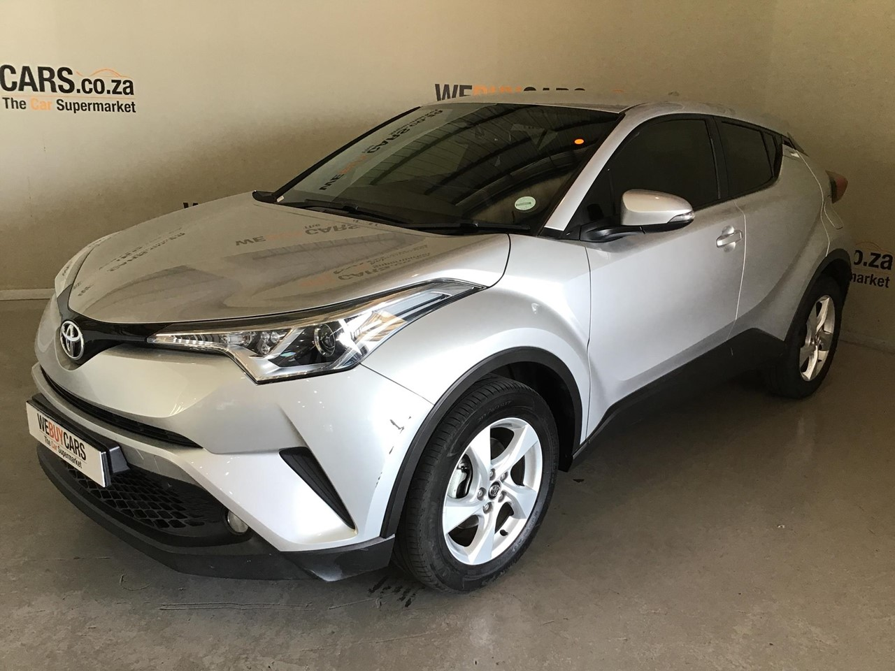 Used 2017 Toyota C Hr 1 2t Plus For Sale Webuycars