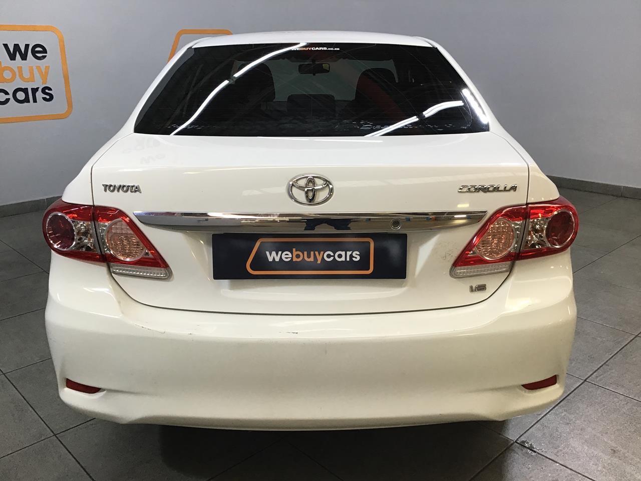 Used 2010 Toyota Corolla 1 6 Advanced Auto For Sale Webuycars