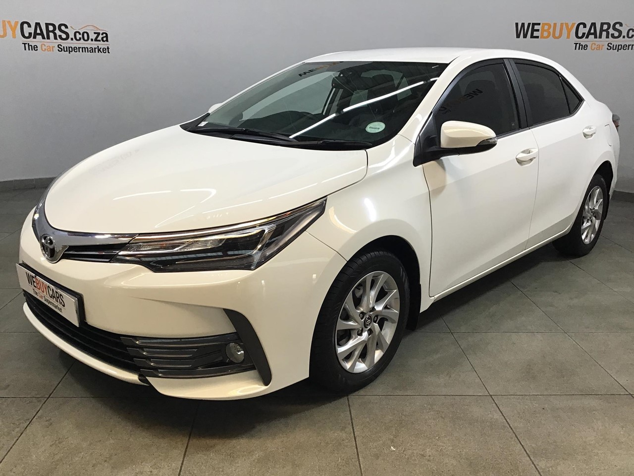 Used 2019 Toyota Corolla 1 8 Exclusive Cvt For Sale Webuycars